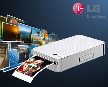 LG Impressora Fotográfica Portátil