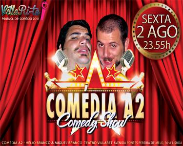 Comedy Show no Teatro Villaret | 6ª à noite