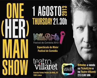 One Herman Show | Teatro Villaret