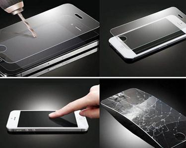 Protector de cristal temperado para iPhone 4, 4S ou 5