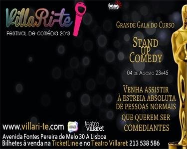 Gala de Stand Up Comedy - Villa Ri-te