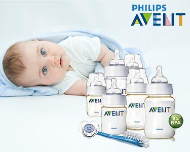 Cabaz Phillips Avent | O Cuidado Para o Seu Bebé