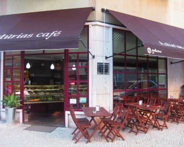 Sopa + Sumo + Prego + Café para Dois no Astúrias Café em Algés
