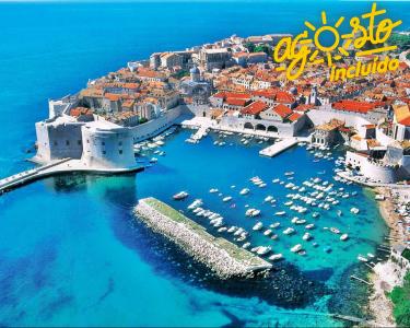 Praia na Croácia - 7 nts c/ Voo M. Pensão em Agosto