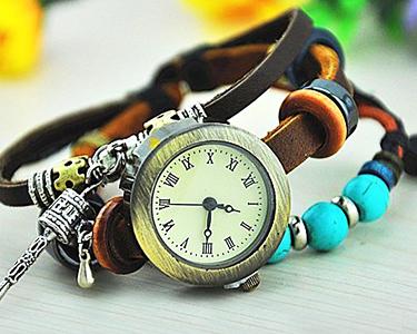 Relógio Vintage - Estilo e Elegância