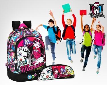 Regresso às Aulas com Monster High | Mochila&Estojo