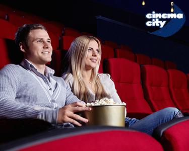 Cinema City | Noite de Cinema a Dois | Bilhete & Pipocas