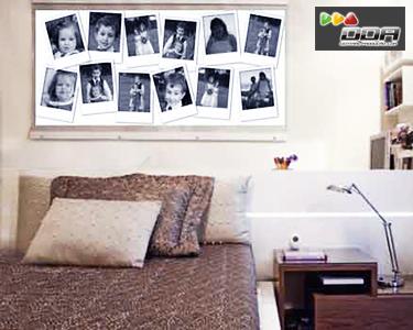 Photocall | Vinil de Parede Personalizado com 12 Fotos