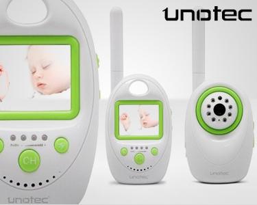 Intercomunicador de bebé com câmara de vigilância | UNOTEC iCare
