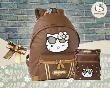 Mochila e Bolsa Tiracolo | Hello Kitty Diva