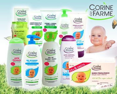 Cabaz 10 produtos para bebé - Corine de Farme