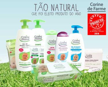 Cabaz 10 produtos para bebé - Corine de Farme®