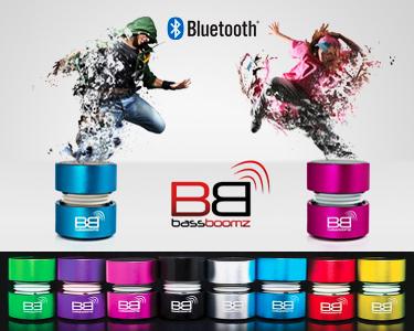 Coluna Portátil | Bluetooth BassBoomz | Alta Performance