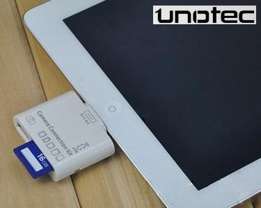 5 em 1   USB e Leitor de Cartões SD para iPad