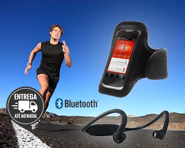 Auriculares Bluetooth & Bracelete