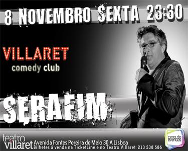 Serafim Ao Vivo   Palco do Café - Teatro Villaret
