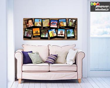 Adesivo decorativo em formato de photocall | 150 x 60 cm