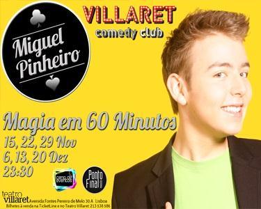 Magia em 60 Minutos | Miguel Pinheiro no Café - Teatro Villaret