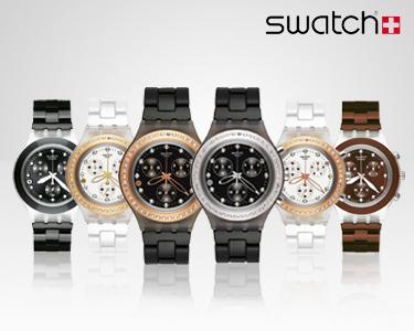 Relógio Swatch Full Blooded   Unissexo