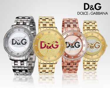 Relógios Dolce & Gabbana®   Glamour e Elegância