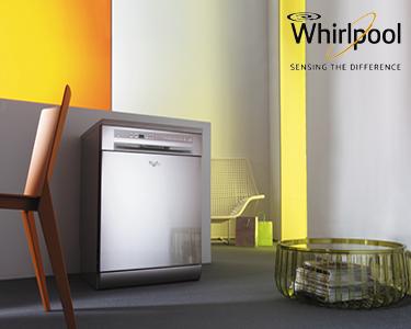 Máquina de Lavar Loiça 6º Sentido | Whirlpool A+