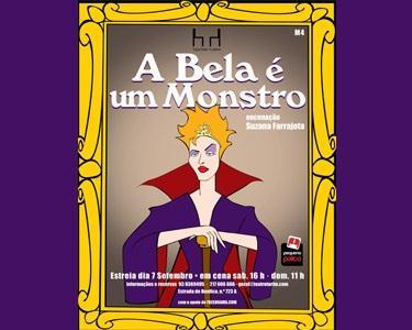 A Bela é Um Monstro! Teatro para a Família no Turim