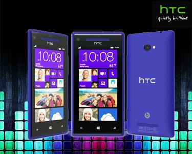 HTC Windows Phone 8X | Azul