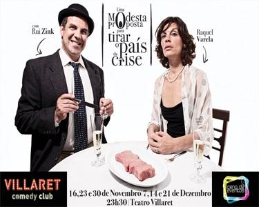 O Inesquecível Rui Zink e Raquel Varela apresentam Uma Modesta Proposta para Tirar o País da Crise