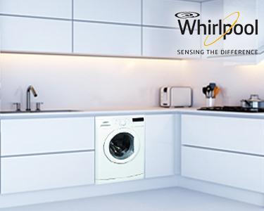 Máquina Whirlpool - Lavagem fácil e intuitiva - 7Kg