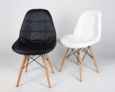 Cadeira Tower Wood | Edição Acolchoada