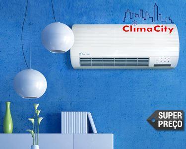 Climatizador Cerâmico Eléctrico de Parede de Baixo Consumo Energético
