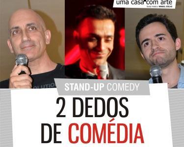 Noite Stand-Up | 2 Dedos de Comédia Convidam David Cristina