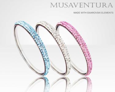 Pulseiras com mais de 300 cristais Swarovski Elements®