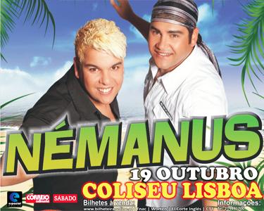 Némanus Kizomba | Ao Vivo no Coliseu de Lisboa
