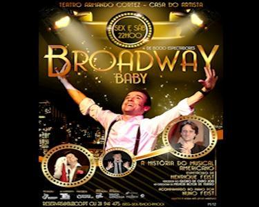 «Broadway Baby» com Henrique e Nuno Feist | Teatro Armando Cortez
