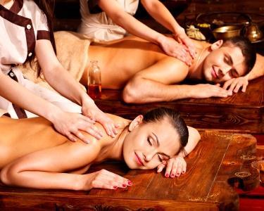 Massagem para Casal | Bambus & Óleos Essenciais