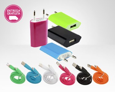 Cabo Lightning Color Edition USB para iPhone 5 ou iPad