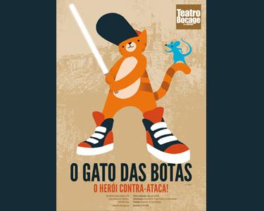 Inesquecível! «Gato das Botas - O Herói Contra-Ataca» no Teatro Bocage