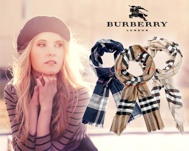 Écharpes Burberry® | 20% Seda 80% Lã virgem