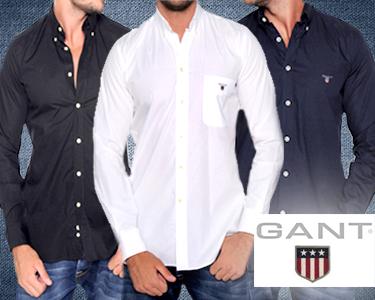 Camisas Clássicas GANT® | 100% Algodão