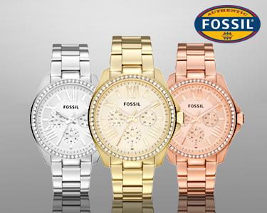Relógio Fossil Cecile | Cristais de Luz