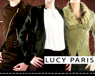 Casacos de Senhora   Outono confortável com Lucy Paris®