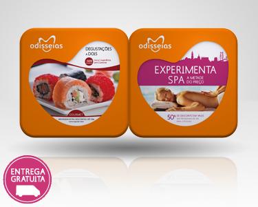 2 Presentes-Degustações a Dois + Experimenta SPA
