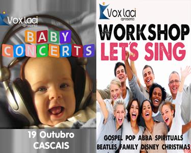 Concertos para Bebés. Viva em Família