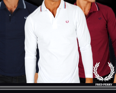 Pólos Manga Comprida | Fred Perry®