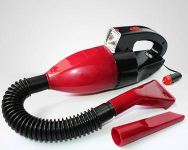 Aspirador Portátil para Carro c/ Lanterna