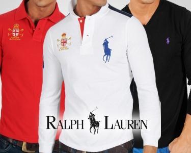 Malhas Jersey e Pólos Manga Comprida Ralph Lauren®