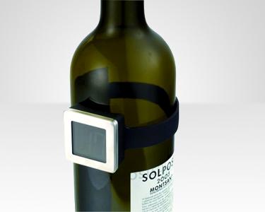 Termómetro Digital para Garrafas de Vinho