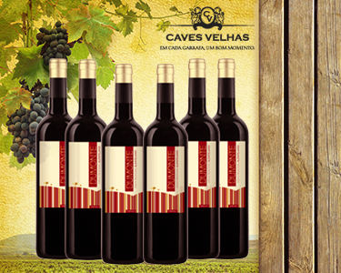 Nova Baixa | Caixa de 6 Garrafas Vinho Dumonte - Tinto do Alentejo