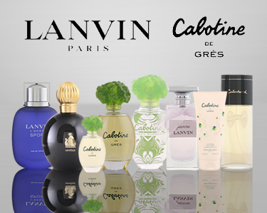 Fragrâncias Cabotine® e Lanvin® | Perfumes & Coffrets